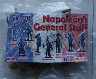 Chin Toys 1/32 CT003 Napoleon's General Staff Set 2 (Napoleonic)